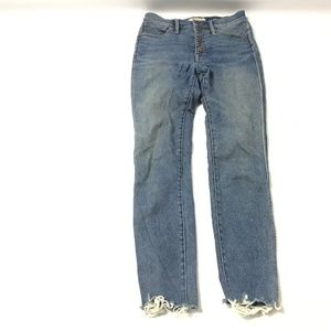 Madewell Women's Jeans Cotton Blend Button Fly